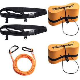 Swimrunners Support Kit de ceintures de traction, orange